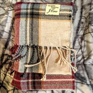J. Crew wool scarf